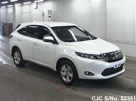 Toyota Harrier 2013 2013 Toyota Harrier Pearl For Sale Stock No 52351