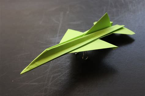 Folded Paper Airplanes - how to make a cool paper plane origami f16