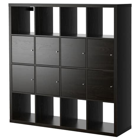 Kleine Kastjes Ikea by Kallax Shelving Unit With 8 Inserts Black Brown 147x147 Cm