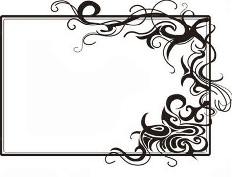 wallpaper powerpoint hitam putih gambar bingkai hitam putih untuk presentasi power point