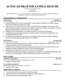 Architectural Drafter Sle Resume by Resume Drafting Sle Ebook Database
