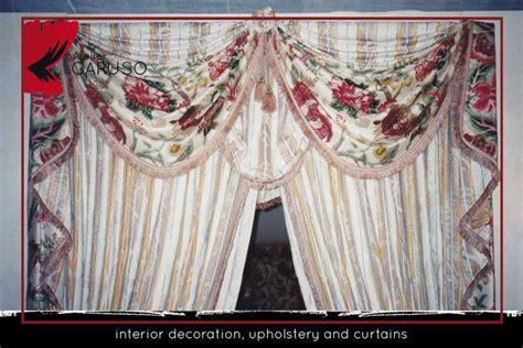 tendaggi con mantovane tendaggi classici con mantovana atelier tessuti