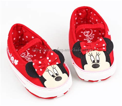 baby slippers size 6 toddler baby minnie mouse slip on crib shoes size 0
