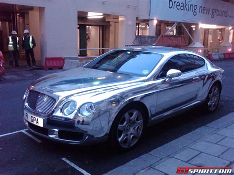 chrome bentley overkill chrome bentley continental gt gtspirit