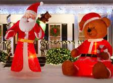 Home Depot Christmas Decoration Outdoor Christmas Decorations Amp Inflatables