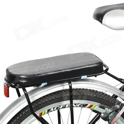 Bicycle Back Seat bicycle rear seat pu cushion black free shipping