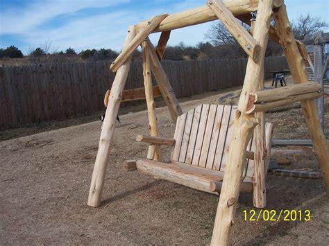 log swing mammoth cedar log yard swing