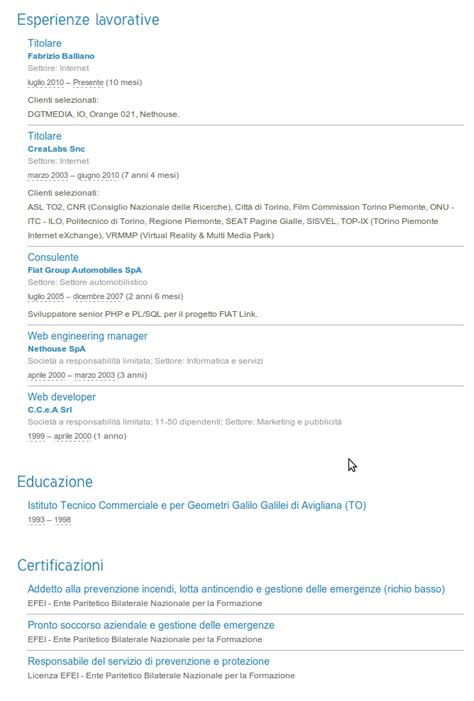 fb linkedin resume fabrizio balliano