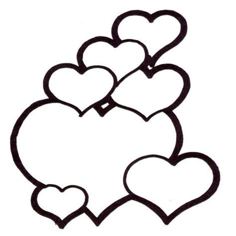 imagenes para pintar de amor 74 corazones de amor para pintar imprimir descargar y