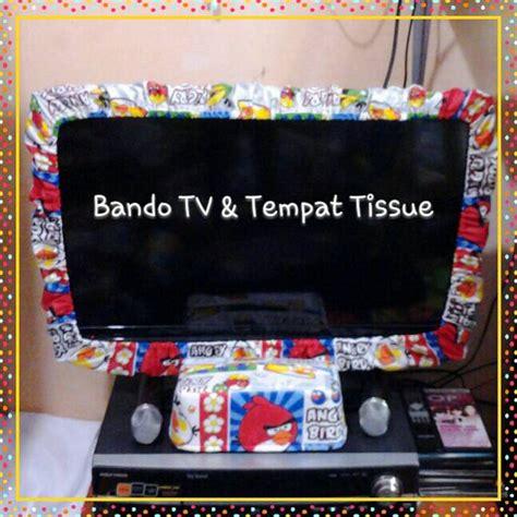 Bando Led Tv 32 jual bando tv tempat tissue kain katun handmade