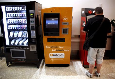 bitcoin machine bitcoin machines place cryptocurrency in bars other fox
