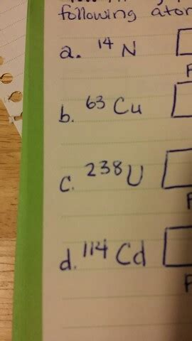 How Do I Find The Number Of Protons by Solved How Do I Find The Number Of Protons Neurons And E