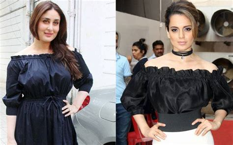 Who Wore It Better Emanuel Ungaro One Shoulder Sequin Dress by Kareena And Kangana Are Wearing Similar Shoulder
