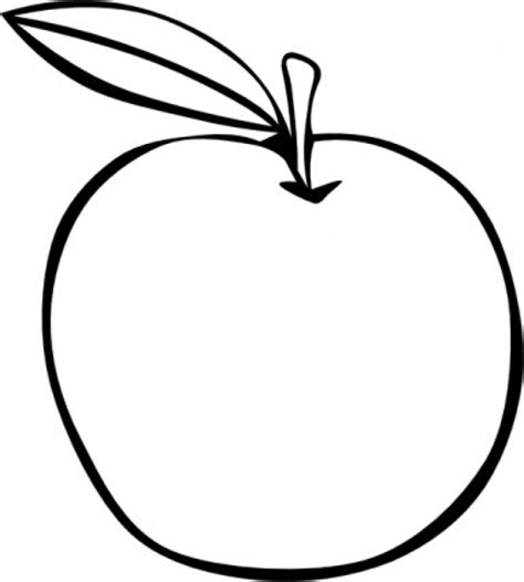 drawing for free apple coloring fruit clip free vector in open office