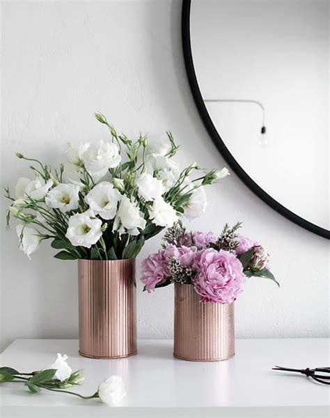 floreros galvanizados decoraci 243 n f 225 cil 4 diy de primavera para hacer este fin