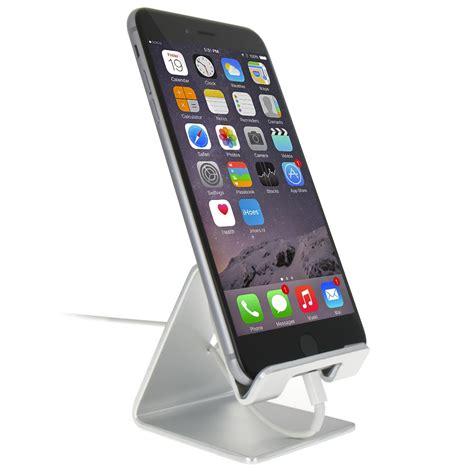 aluminium iphone bureau houder ihoesnl