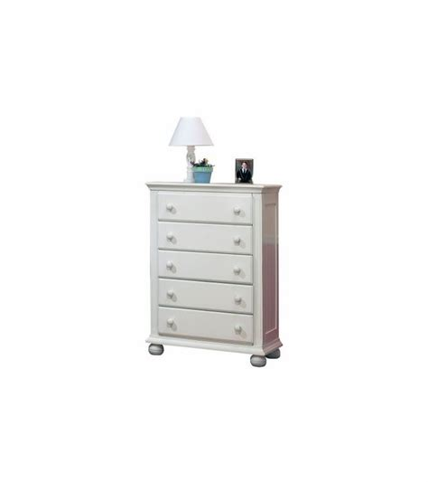 white 5 drawer dresser sorelle vista 3 nursery set in white crib