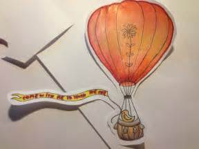 air balloon pencil drawing air balloon color pencil drawing by greeneyedjax on
