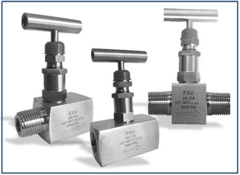 Neddle Valve Ss316 6000 Psi 1 2 Npt Sami needle valve 3000 psi 6000 psi npt bsp fav fittings and valves