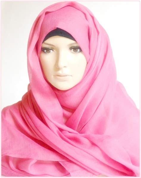 Jilbab Pink Model Jilbab Terbaru Warna Pink