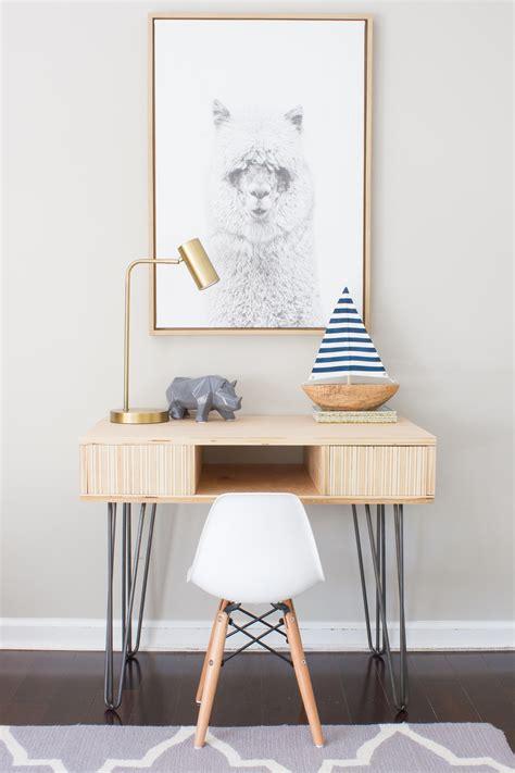diy toddler desk diy plywood kid s desk erin spain