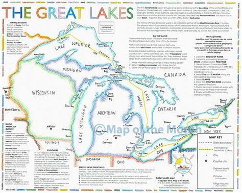 the great lakes map three great lakes pictures to pin on pinsdaddy