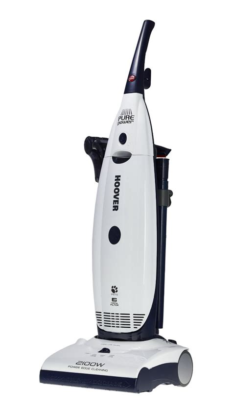 bagged vacuum cleaners hoover purepower pu2118 2100w 290aw 4 5l bagged upright vacuum cleaner ebay