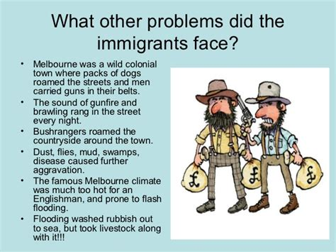 challenges immigrants faced the gold australia