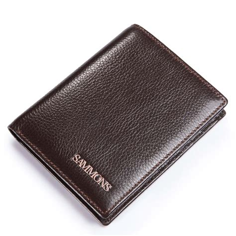 Cowhide Wallet - cowhide leather wallet coffee