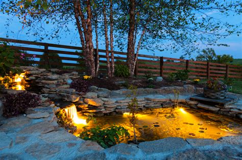 Pond Lighting by 5 Dramatic Landscape Lighting Ideas For Your Home