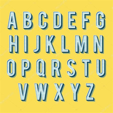 imagenes retro letra alfabeto vintage retro tipo de letra letras 3d archivo