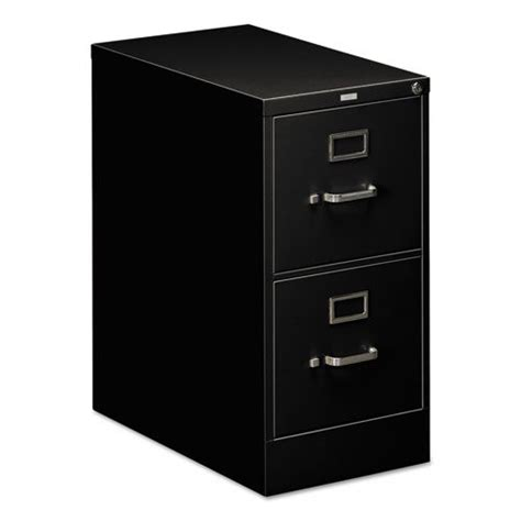 Hon 510 Series 2 Drawer Letter Size Vertical File Black Hon 510 Series Vertical File Cabinet