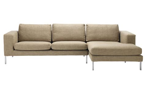 Slipcovers For Sectional With Chaise by Neo Sectional Chaise Right Slipcover Design Within Reach
