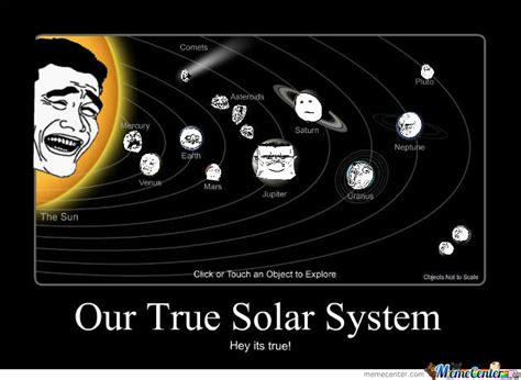 Solar Meme - our true solar system by thetrol meme center
