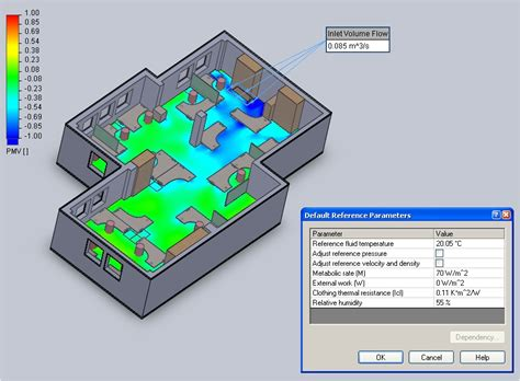 Room Building Software floefd hvac module taking built environment cfd