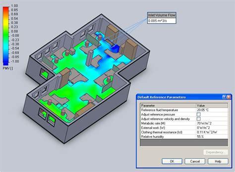 designing for comfort iaq air distribution per ashrae floefd hvac module taking built environment cfd