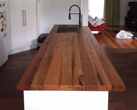 reclaimed wood benchtop the 25 best timber benchtop ideas on laundry