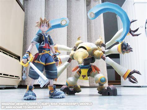 Kingdom Hearts Papercraft - sora kurt zisa papercrafts by ninjatoespapercraft on