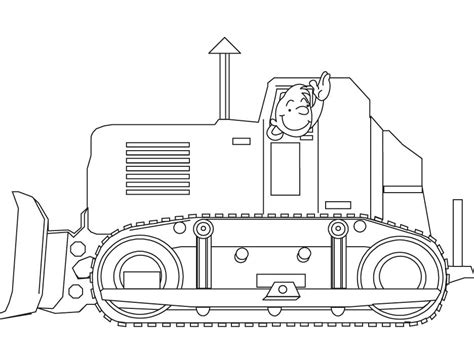 Bulldozer Coloring Pages Download Free Bulldozer Bulldozer Coloring Pages