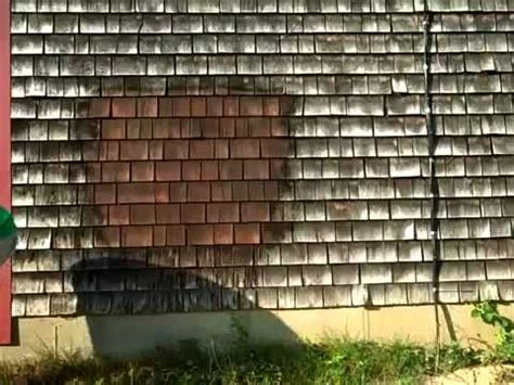 Best Way To Clean Cedar Siding - clean stained cedar with this professional strength