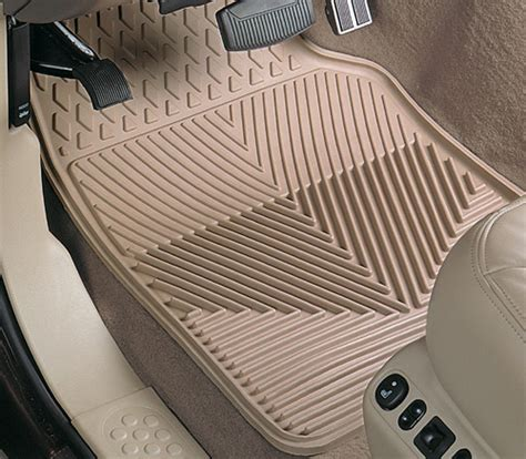 using factory floor mats on top of hushy liners what are you guys using for floor mats