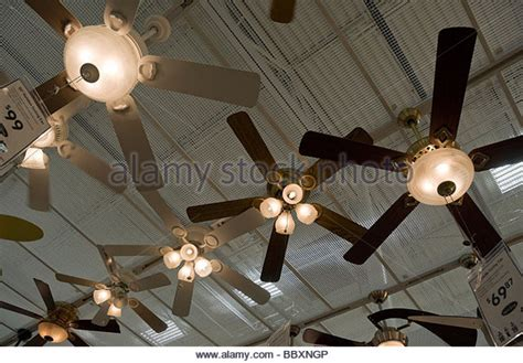 lowe s home improvement ceiling fans lowes store stock photos lowes store stock images alamy