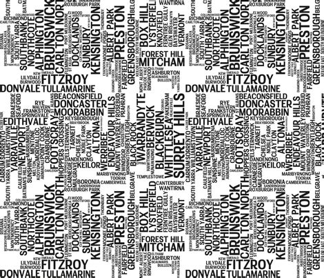 printable fabric melbourne melbourne suburbs fabric kaseygillingham spoonflower