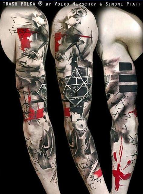 polka trash tattoo design trash polka by volko merschky pinteres