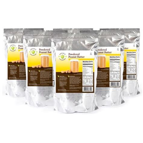 What Is The Shelf Of Protein Powder by Legacy Essentials Powdered Peanut Butter Storage Shelf Non Gmo Food Healthy