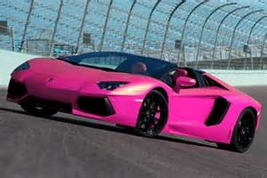 Nicki minaj s pink aventador similar to above will be the only one