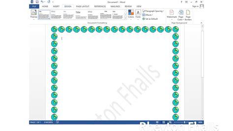 membuat halaman pada ms word 2013 cara mudah membuat bingkai halaman di microsoft word 2013