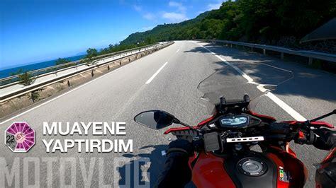 motosiklet muayenesi  tracer