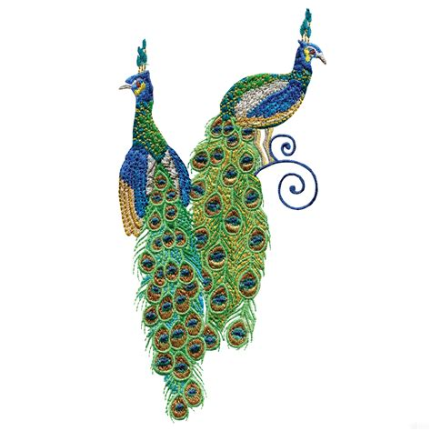 Embroidery Design Of Peacock   swnpa139 peacock embroidery design