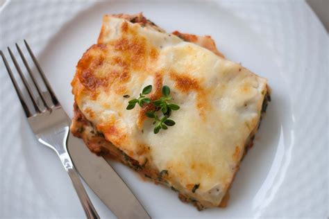 lasagna with cottage cheese cottage cheese lasagna recipe details calories